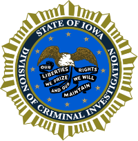Division of Criminal Investigation Badge
