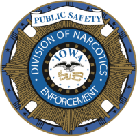 Division of Narcotics Enforcement Badge
