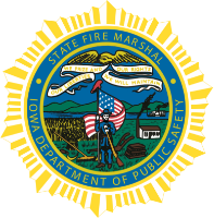 State Fire Marshal Badge