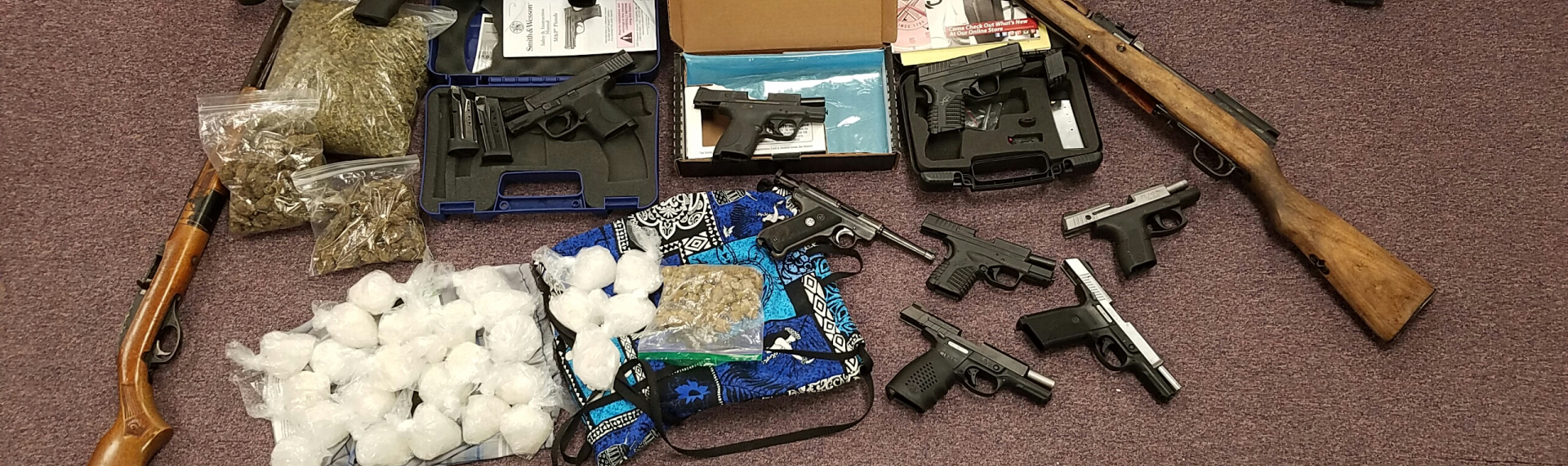 Photo of Narcotics & Firearms